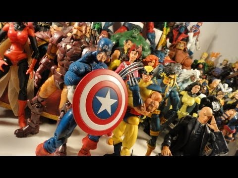 Marvel Legends Collection 2012 Update :)