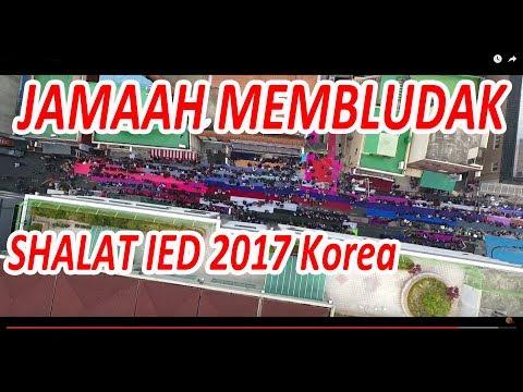 SHALAT IDUL FITRI TERMERIAH DI KOREA SELATAN 2017
