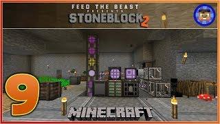 StoneBlock 2 Modpack Ep 9 - AUTO CRAFTING  - Modded Minecraft