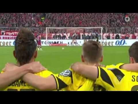 DFB-Pokal 2014/15 Halbfinale: FC Bayern München - Borussia Dortmund - Elfmeter schiessen