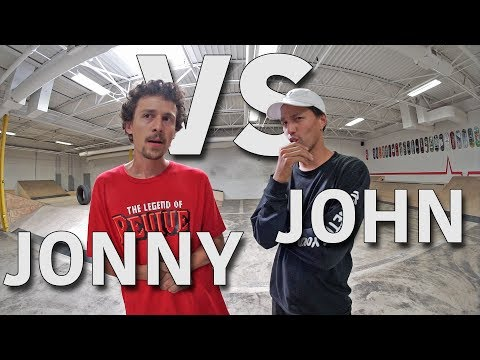 Anything On Flatground Counts - John Hill VS Jonny Giger