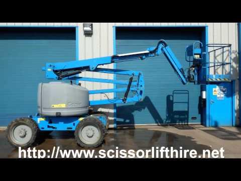 4x4 Scissor Lift Hire Delivery West London