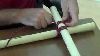 Tying A Square Lashing