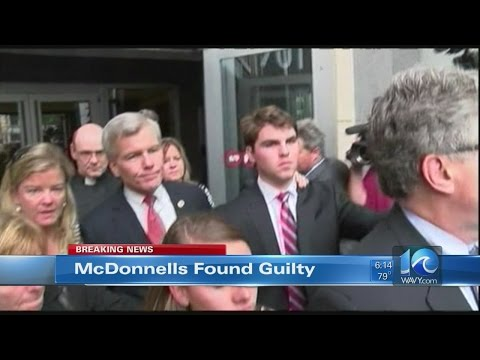 WAVY News Team Coverage of McDonnell trial, verdict