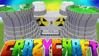 NEW SEASON GIANT NUCLEAR REACTOR - MINECRAFT'S OLDEST MOD PACK CRAZY CRAFT SURVIVAL Season 2 #1