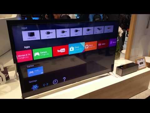 Televisor Sony con Android TV