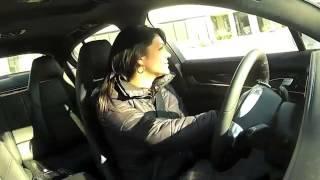 Hot girl Launching Porsche
