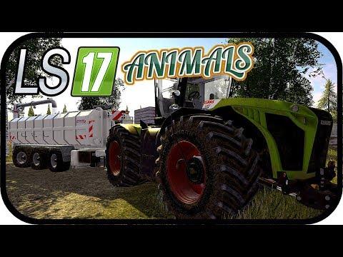 LS17 ANIMALS - Die Gülletechnik vorbereiten #168 - LS17 NORDFRIESISCHER MARSCH 4 FACH ★Deutsch