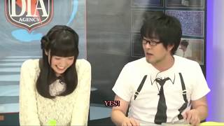 Ohashi Ayaka giving cute answers to questions