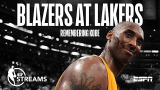 Hoop Streams: Remembering Kobe Bryant and Previewing Blazers vs Lakers | ESPN