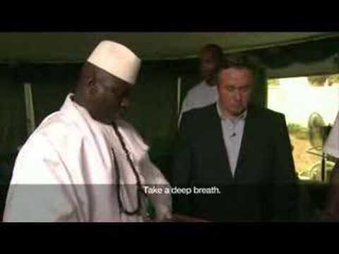 Meet the President - Yahya Jammeh - 14 May 07 - Part 1