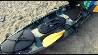 Kayak Fishing Taiwan - Ocean Kayak TRIDENT 11