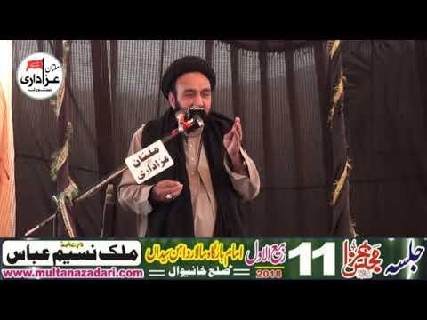 Zakir Agha Ali Hussain Qumi I 11 Rabi ul Awal 2018   ImamBargah Haideriya Salar Wahin