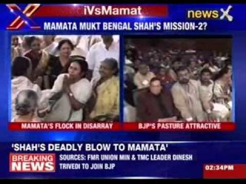 Amit Shah plans deadly blow to Mamata Banerjee
