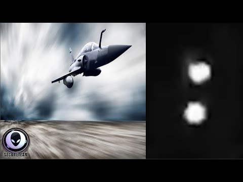 MILITARY JET Chases TWO Unknown Craft Over California 7/19/17