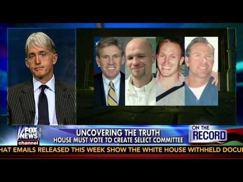 Rep. Gowdy reacts to the creation of a Select Committee on Benghazi