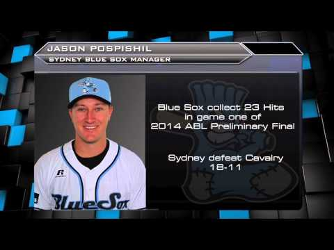 Blue Sox Manager Jason Pospishil - Post Game Interview