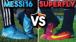 Messi Pureagility v CR7 Mercurial Superfly | Leo v Ronaldo Football Boots
