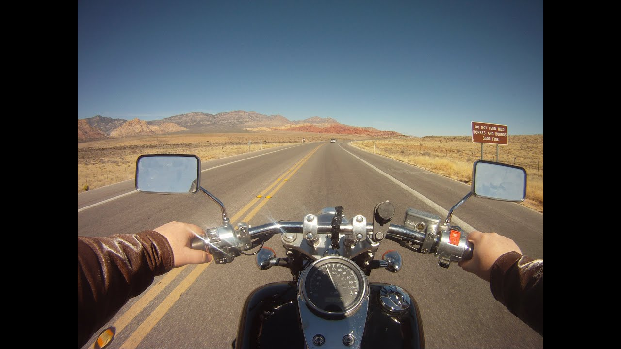Motorcycle Road Trip Through The Desert On My 2003 Honda