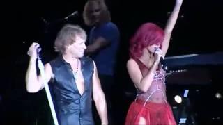 Bon Jovi And Rihanna Livin 39 On A Prayer