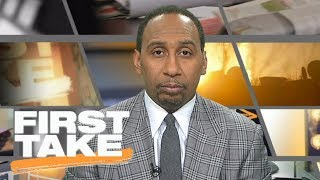 Stephen A. Smith doesn't like Jerry Jones' national anthem policy | First Take | ESPN
