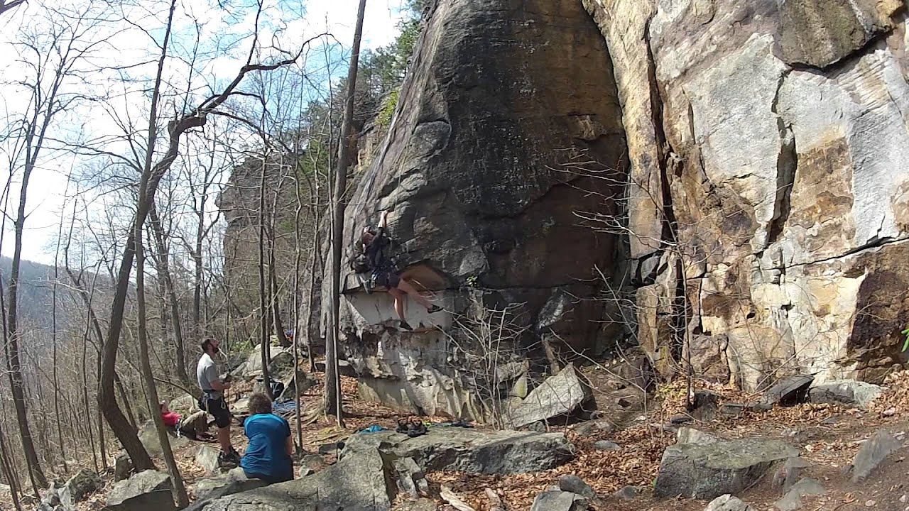New River Gorge Climbing Part