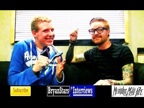Memphis May Fire Interview #2 Matty Mullins 2013