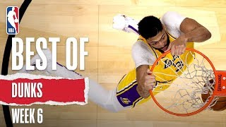 NBA's Best Dunks | Week 6 | 2019-20 NBA Season