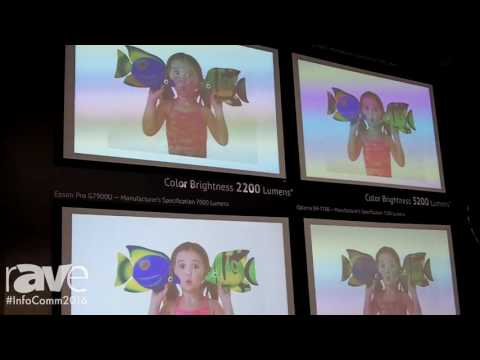 InfoComm 2016: Epson Shows Off Epson Pro G7900U 3LCD Projector