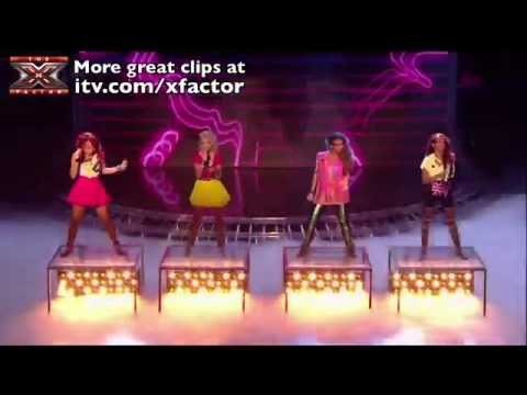 Little Mix - Telephone & Radio Ga Ga - The X Factor 2011 [Live Show 6]
