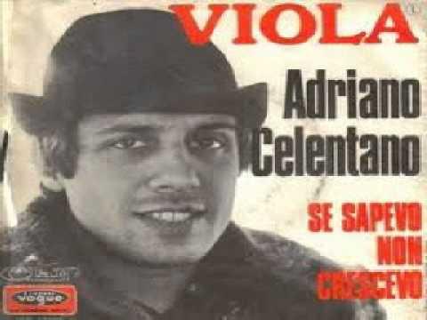 Adriano Celentano - Se Sapevo Non Crescevo