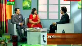 TV show at Bangla Vision on Education UK Exhibition 2011 - Part 2.mp4
