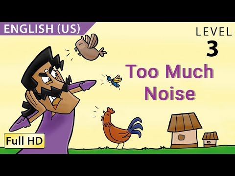 Too Much Noise: Learn English (us) With Subtitles - Story For Children bookbox video