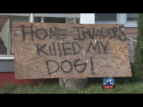 Burglars kill woman's dog