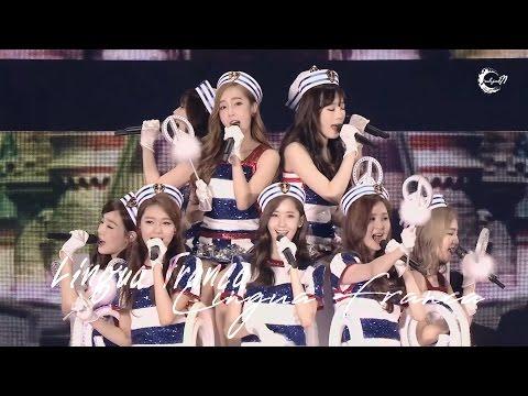 リンガ・フランカ Lingua Franca - Girls Generation (少女時代 / 소녀시대) SNSD [ENGLISH LYRICS]