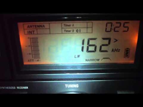 162 khz Radio France Inter Reiceved in Brazil in 8.758 km Distance