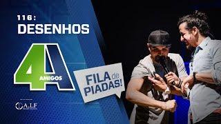 FILA DE PIADAS - DESENHOS - #116 Participação Victor Camejo