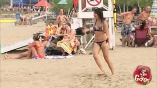 Download الكاميرا الخفية   أخطر لعبة على الشاطئ 3Gp Mp4