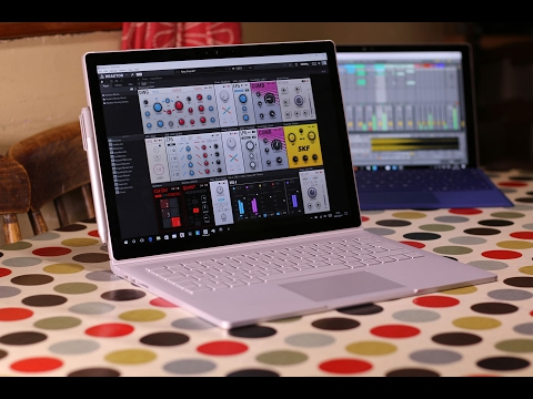 Microsoft Surface Book review for music production