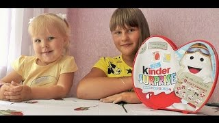 Киндер Сюрпризы спортивная серия Распаковка/Kinder Surprises sports series unboxing
