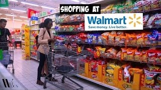WALMART IN CHINA   BUYING IMPORTED FOODS