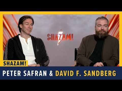 Peter Safran And David F. Sandberg Talk SHAZAM!
