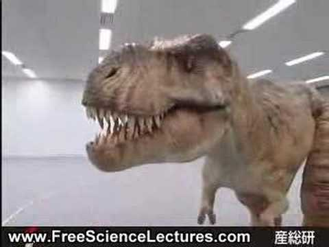 Giant Robot Dinosaurs from Japan