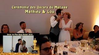 Cérémonie Oscars Mariage Mathieu Lou