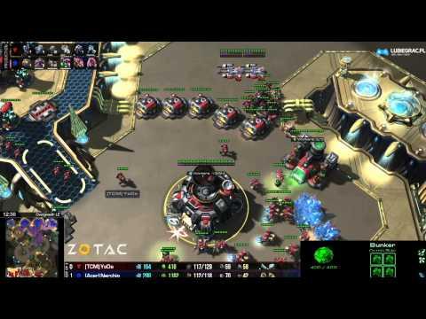 ZvT Nerchio vs Yoda -g2- Starcraft 2 HD Polski komentarz