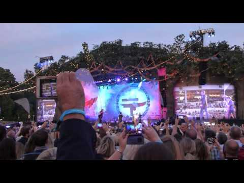 Said It All, Take That, Live, Hyde Park, London, Sat 9th July 2016