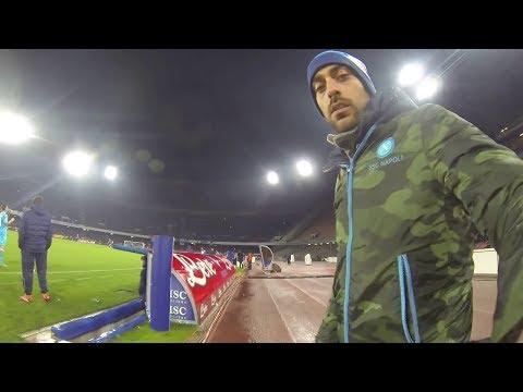 Annuncio gol Lorenzo Insigne in Coppa Italia (TIM CUP) Napoli Atalanta Stadio San Paolo