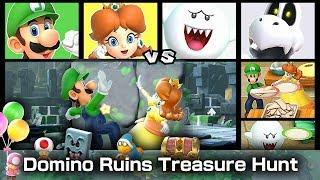 Super Mario Party Domino Ruins Treasure Hunt 20 Turns #7