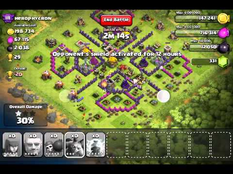 Clash Of Clans trophies glitch
