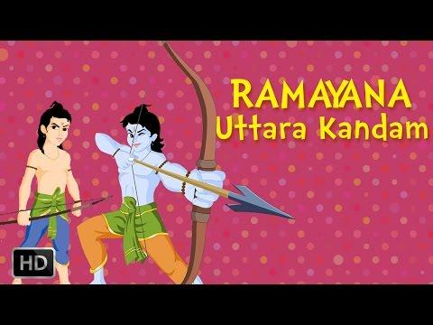Ramayana:the Epic (full Movie) - Uttara Kandam - Birth Of Lav Kush - Animated Stories For Kids video